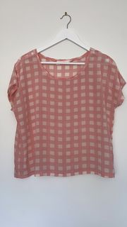 COOP by Trelise Cooper Gingham Top - Size 12