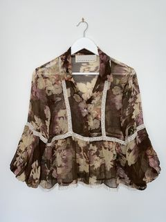 COOPER by Trelise Floral Shirt - Size 10