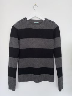 KOOKAI Striped Knit Top - Size 12
